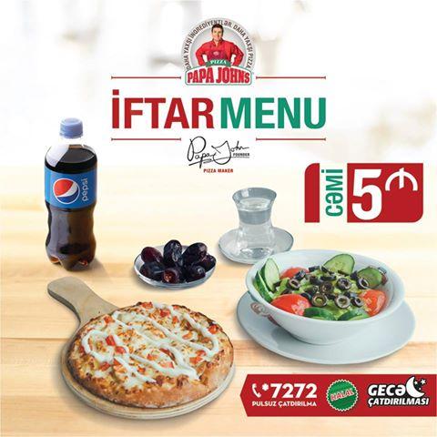 Papa Johns Pizza Nizami Bakida Pizzacilar Yemək Icmək Baku Guide